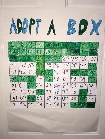 Adopt A Box Fundraiser With Updates